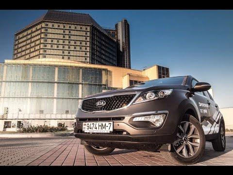 Тестдрайв Kia Sportage 2.0 4WD 6AT Luxe 2014my