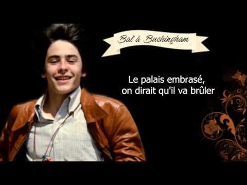 ✿ Alexandre Sterling - Bal a Buckingham / Lyrics ✿