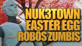 EASTER EGG  da NUK3TOWN - Manequins Robôs Zumbis - Black Ops 3