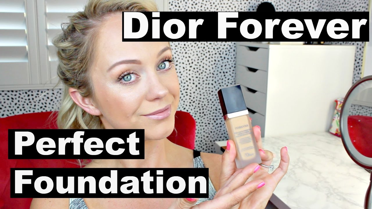 Dior Forever Perfect Foundation | Wear Test | Oily Skin - YouTube