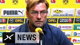 Hier erklärt Jürgen Klopp seinen Rücktritt beim BVB | Erfolgstrainer verlässt Borussia Dortmund