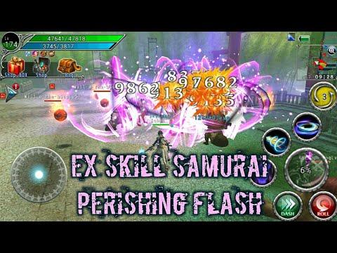 AVABEL ONLINE - Ex Skill Samurai Perishing Flash Lv1