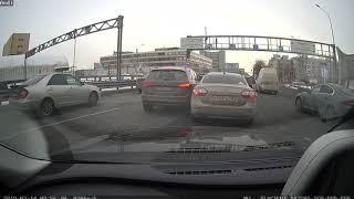 Смотреть видео Два барана, я в лице пострадавшего. ДТП ЗСД Санкт-Петербург, Благодатная. онлайн