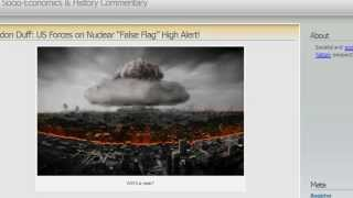 "U.S. Forces on High Alert for East Coast Nuclear ""False Flag""!"