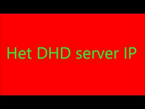 dhd server ip - youtube