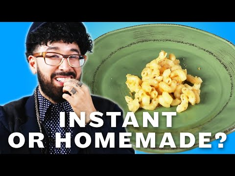 Download Youtube: Can You Tell Instant Food Vs. Homemade Food?
