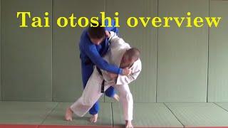 In depth Tai otoshi by Matt D'Aquino of Beyond Grappling