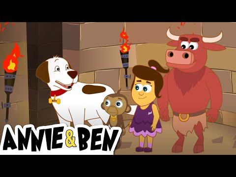 Minotaur's Maze | Fun Cartoon Episodes For Kids | The Adventures of Annie and Ben