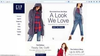 How To Use Gap Coupon Codes