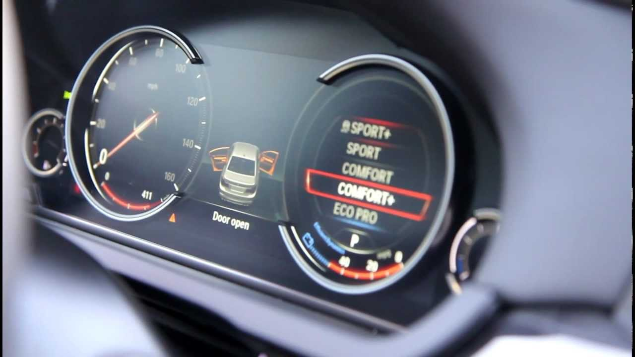 New BMW Digital LCD Instrument Gauges Display (from 7 Series LCI)