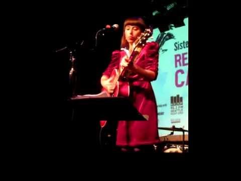 Gudrid Hansdóttir performs at Reykjavik Calling 2011