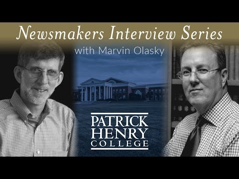 Patrick Henry College Newsmakers   George Grant