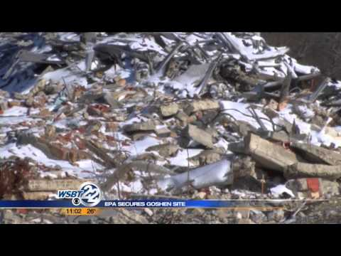 Environmental Protection Agency secures Goshen factory site