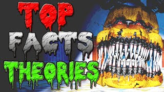 TOP 7 FNAF 4 Fredbear Easter Eggs and Theories Five Nights At Freddy