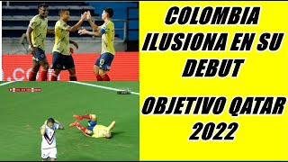 PARA ILUSIONARSE! SELECCION COLOMBIA Y UN DEBUT GOLEADOR EN LA ELIMINATORIA AROLLANDO A VENEZUELA