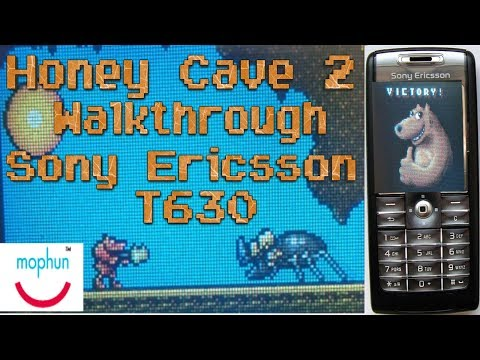Honey Cave 2 Sony Ericsson T630 Mophun Game FULL WALKTHROUGH!
