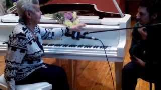 7 часть Интервью Народной артистки СССР,певицы и композитора Лядовой Людмилы Алексеевны  в Лыткарино