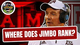 Jimbo Fisher's Ranking Among SEC Head Coaches (Late Kick Cut)