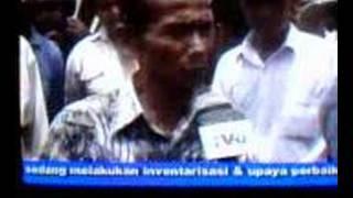 Berita TVRI 07/03/07 - Part 1 (Gempa Sumatra Barat, Padang)