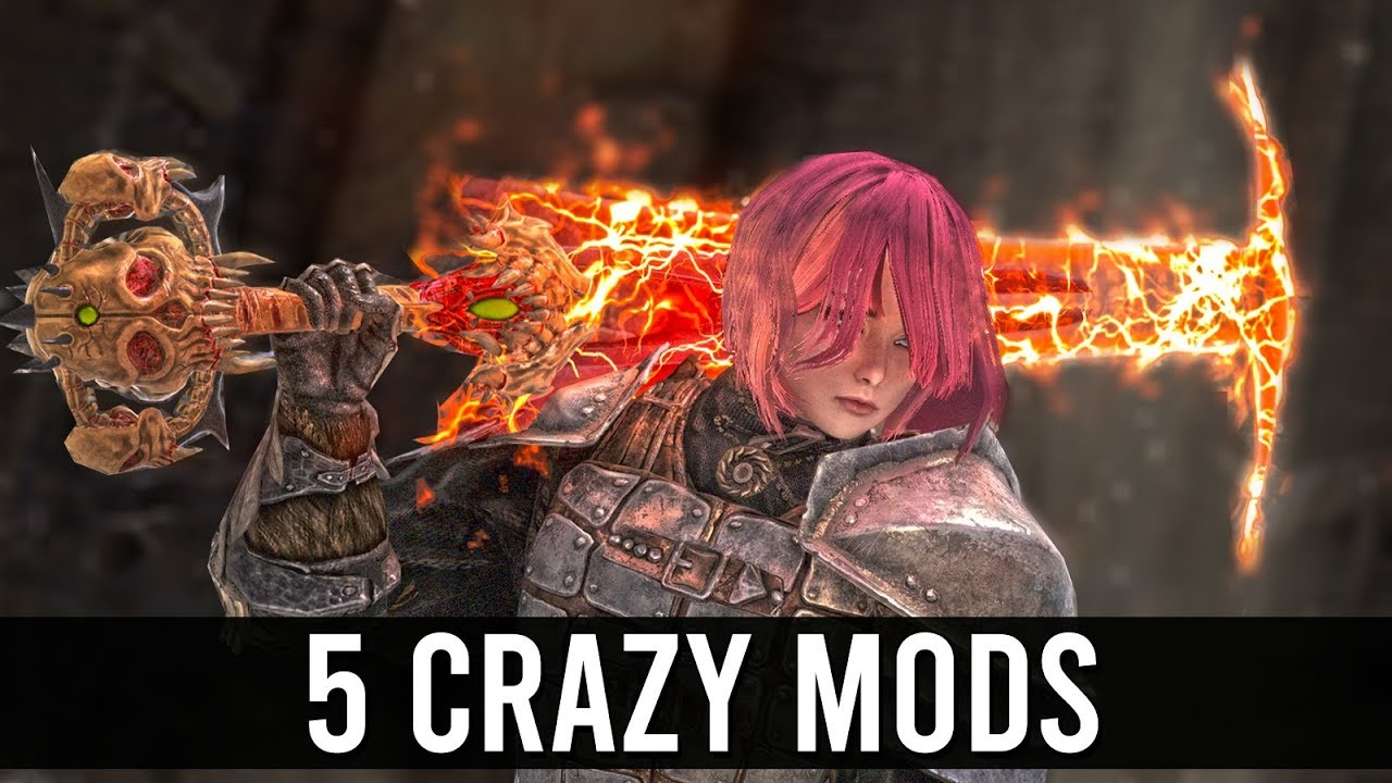 Skyrim TOP 5 Crazy weapon mods thumbnail