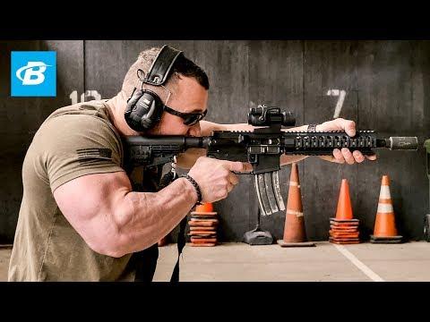 Police SWAT Tactical Training  | Road to JR USA: Hunter Labrada Bodybuilding Prep Series - Ep 6