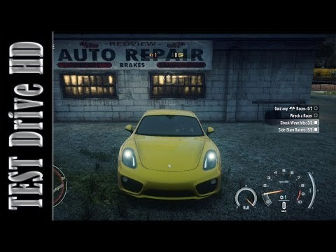 Porsche Cayman S - Need for Speed: Rivals - Test Drive [HD]