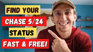 Find Your Chase 5/24 Status FAST & FREE #shorts