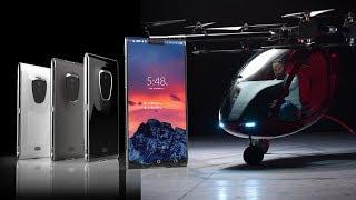 Первый в мире блокчейн-смартфон и пассажирские дроны от Passenger Drone