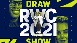 Join us LIVE for the Rugby World Cup 2021 Draw Show!