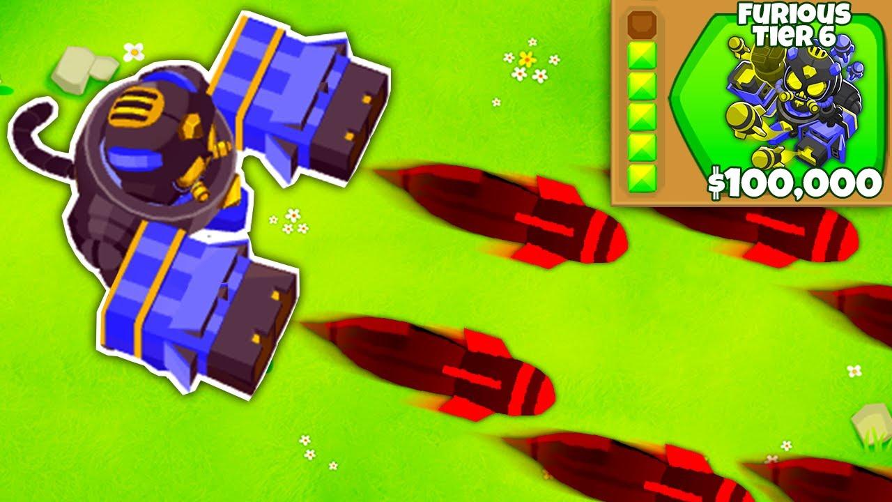 Download Tier 6 Dartling Gunner in BTD 6!