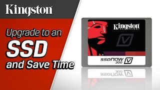 SSD v HDD Speed Comparision - Kingston Technology