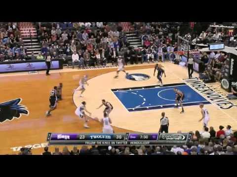 Minnesota timberwolves 92 vs 80 Sacramento kings//Full highlights//11-02-2012