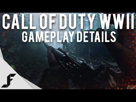 CALL OF DUTY WW2 - Multiplayer Gameplay Details