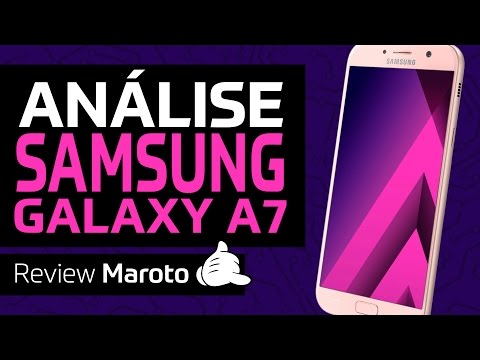 Review do Samsung Galaxy A7 2017