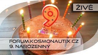 Oslava devátých narozenin našeho diskusního fóra thumbnail