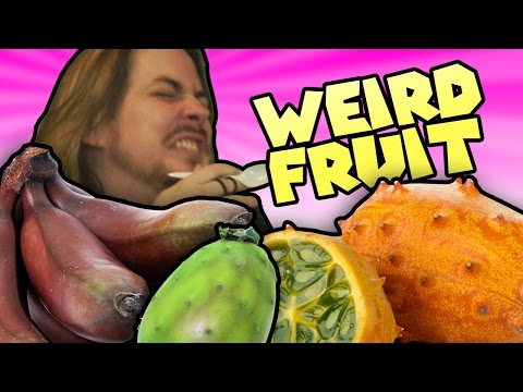 Weird Fruit Taste Test!
