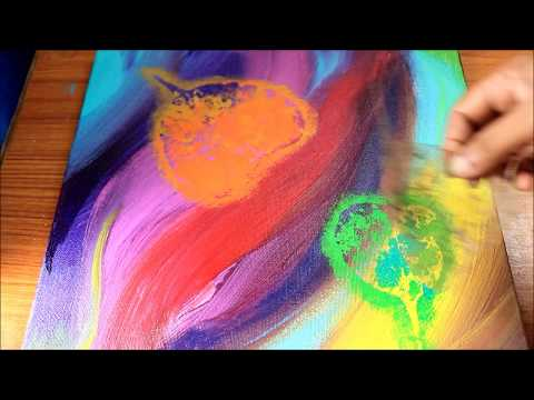 Abstract Demonstration II Independence Day Special Ll Abstract Art