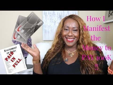 How I manifested 100k and become DEBT FREE