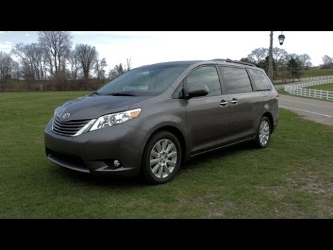 2014 toyota sienna xle review lotpro youtube. Black Bedroom Furniture Sets. Home Design Ideas