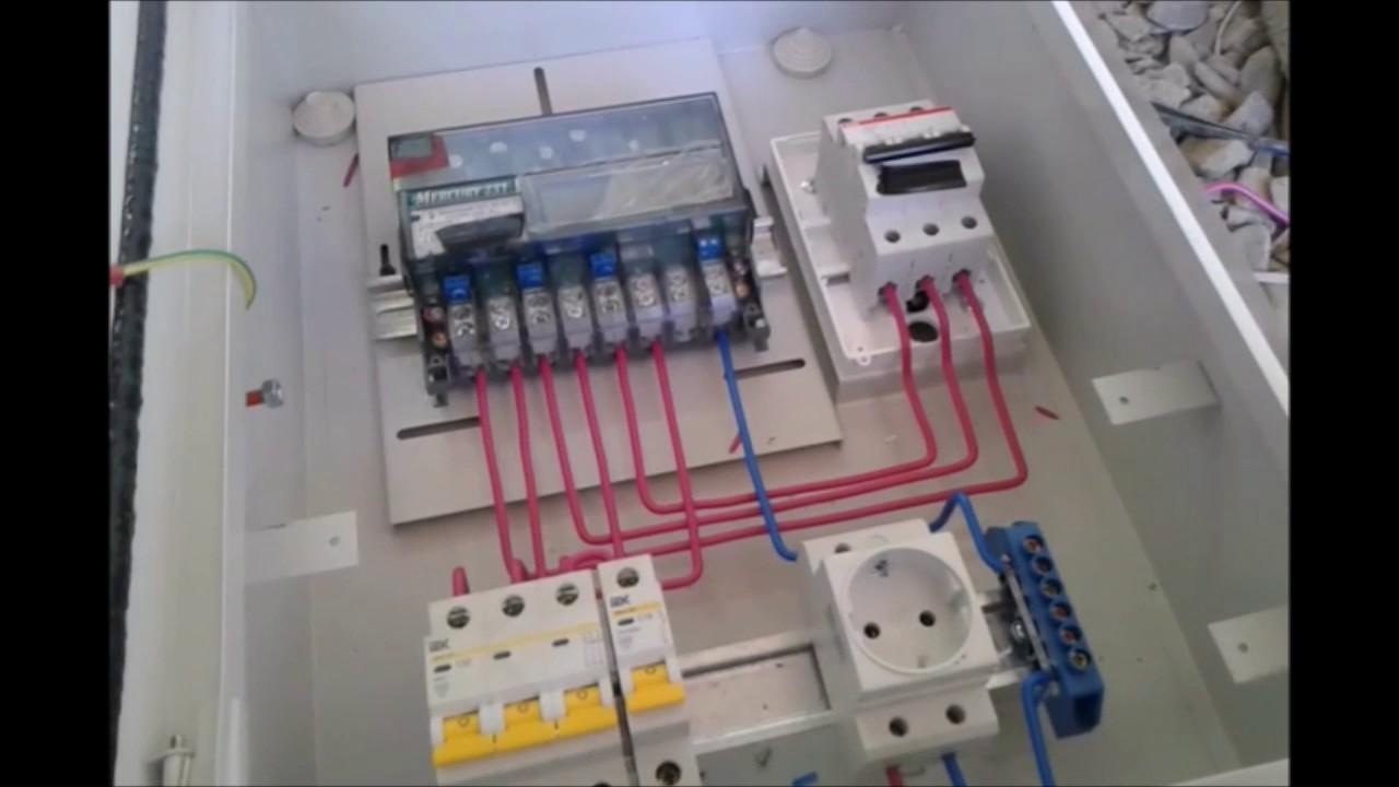 Сборка щита учета электроэнергии 220в своими руками фото 370