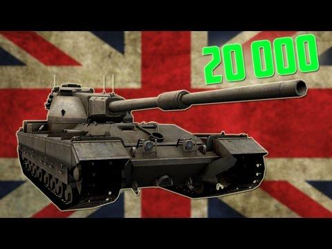 Jubileuszowe bitwy #76 - 20000 bitwa Bergitima :) - FV215b