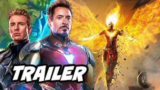 X-Men Dark Phoenix Trailer - Avengers Endgame and Marvel Phase 4 Breakdown