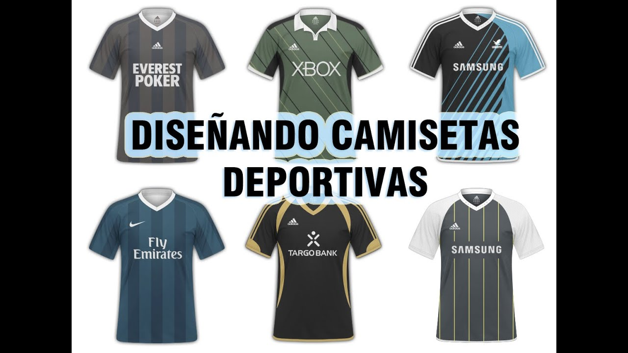 7b7bf5c3f9bd5 Como Crear Camisetas de Fútbol  Delantera (PhotoshopCS5) - YouTube