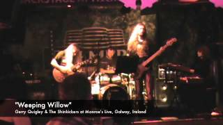 Gerry Quigley & The Shinkickers epic original Weeping Willow at Monroe's Galway, Ireland streaming