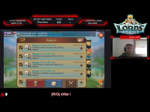 Lords Mobile - KVK 08/09/2018 - Parte 1