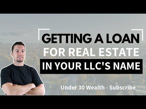 Getting a Real Estate Loan with Your LLC (Non Recourse vs Recourse)