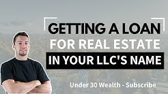 Getting a Real Estate Loan with Your LLC (Non Recourse vs Recourse)