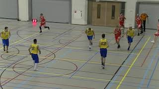 9 november 2019 Rowic MSE2 vs Rivertrotters MSE2 86-75 1st period