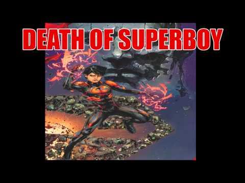 DC Comics Announces Death of Superboy (NYCC 2013)