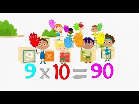 Las Tablas De Multiplicar Completas Todas Del 2 Al 9 Video